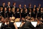 Chór WUM wraz z Chórem UKSW oraz Sinfonia Juventus