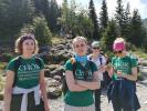 Chór WUM na obozie w Zakopanem